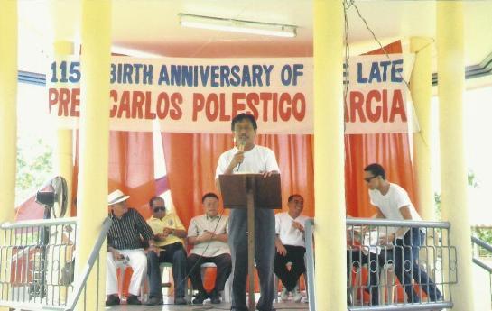 Mayor of the Municipality of Talibon, Restituto B. Auxtero