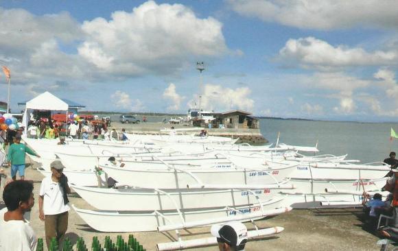 barotos or paddle boats