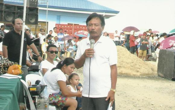 The Honorable Mayor, Restituto B. Auxtero