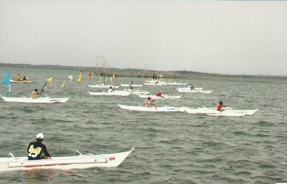 The Boat Paddling Race