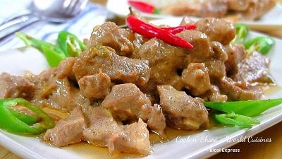 Filipino Cuisine- Bohol-Philippines