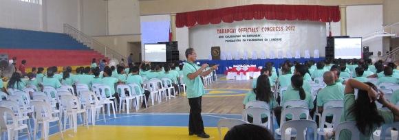 The Barangay Officials at the onset