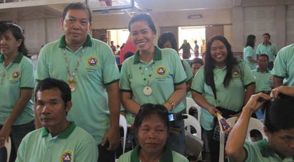Barangay Poblacion contingent