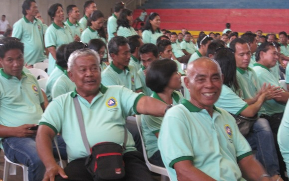 Barangay Tanghaligue contingent