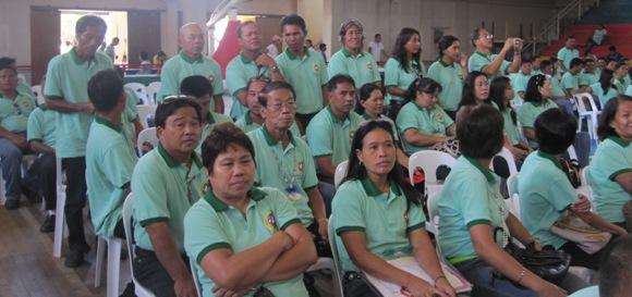 Barangay San Agustin, standing