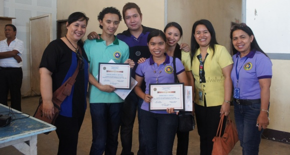 The Special Awardees w/ fellow employees