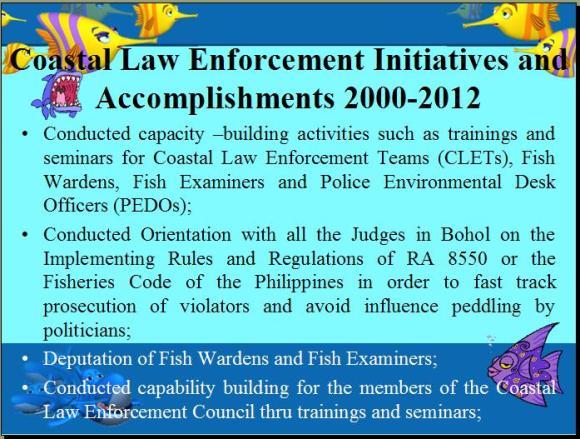 Initiatives and Accomplishments