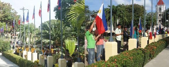 flag raising combo