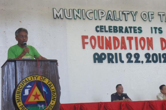 the Mayor, Restituto B. Auxtero