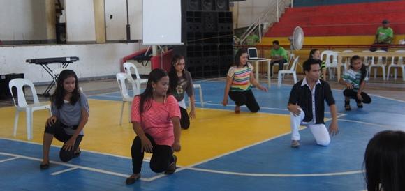 """""""chair dance"""" by PCPGMHS-San Agustin"""