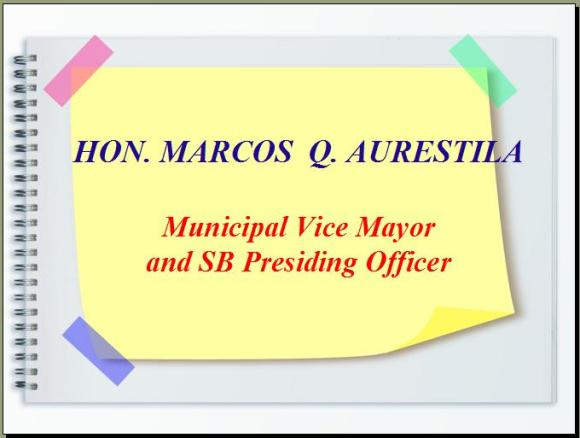 Municipal Vice Mayor