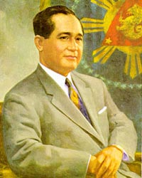 4th President of the Philippines, Carlos P. Garcia