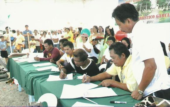 Signing of the Memorandum of Agreement