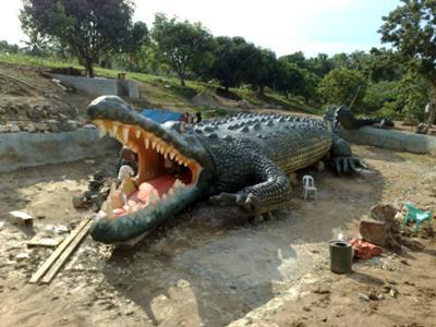 Big Croc at Berac