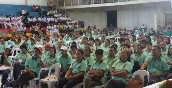 LGU employees in attendance