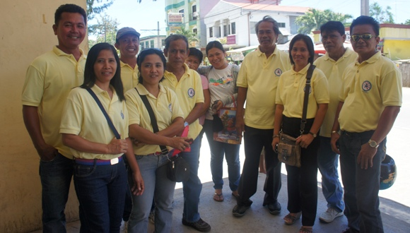 group from Brgy. San Roque