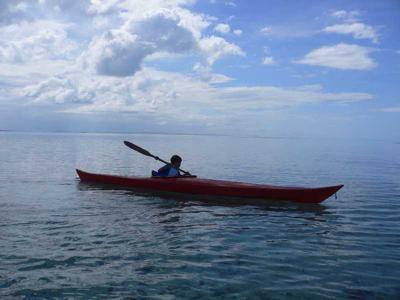 Kayaking in Bien Unido